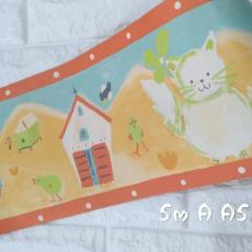 Wallpaper Dinding BORDER ANAK 5m/roll 10 bd_a_5m_a5_7