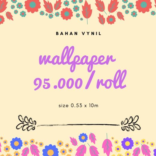 Wallpaper Dinding WALLPAPER 95.000
